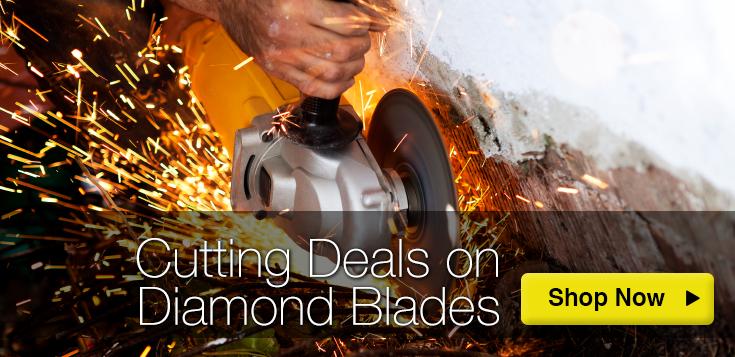 Cutting Deals on Diamond Blades