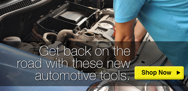 Get Back on the Road with These Automotive Tools