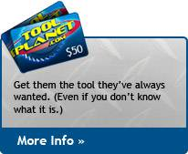 Tool Planet Gift Cards