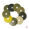 4 Wet Diamond Polishing Pads for Marble Granite and Stone
